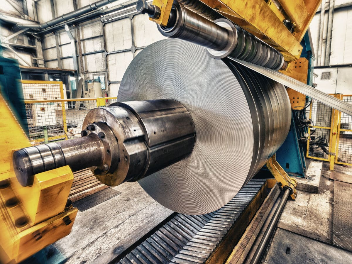 Steel coil in metal processing. ©jovannig - Adobe Stock